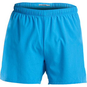 "saucony Throttle 5"" Hardloop Shorts Heren blauw"